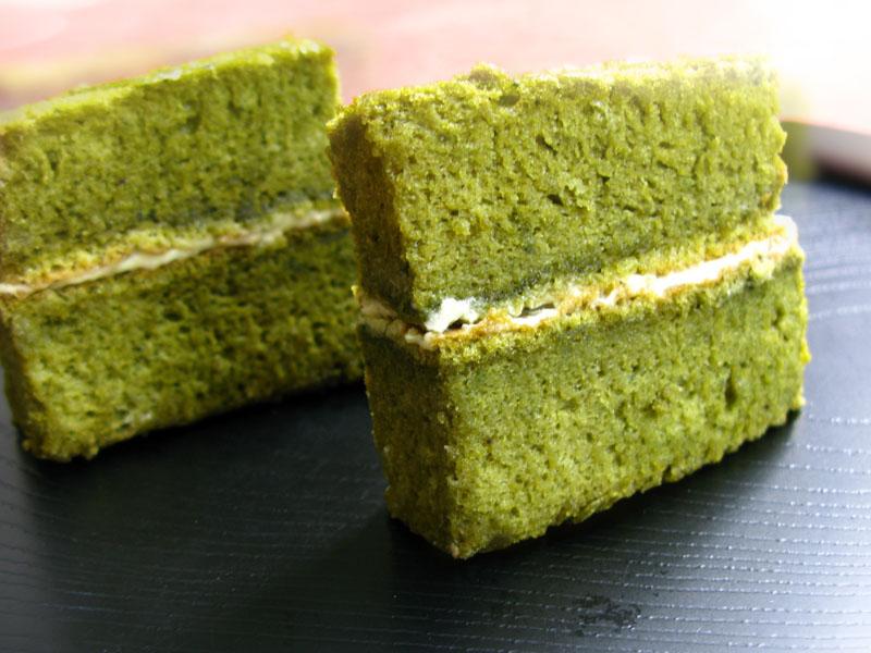 Matcha Green Tea Castella Cake