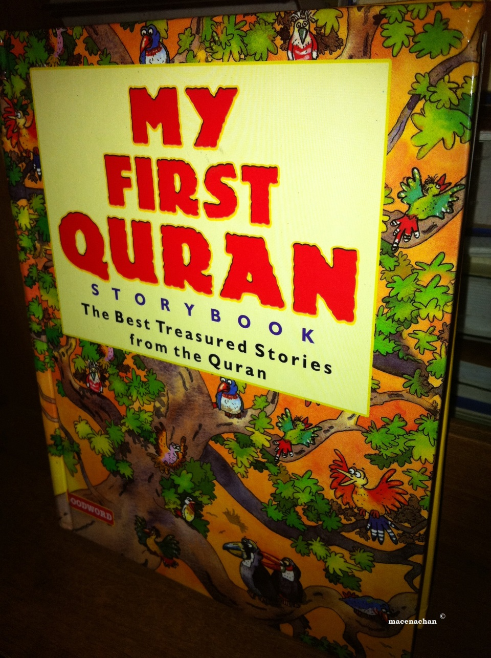 'My First Quran' has 42 stories compiled from the Qur'an with simple language and colourful pictures.