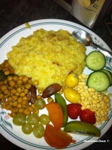My Iftaar plate