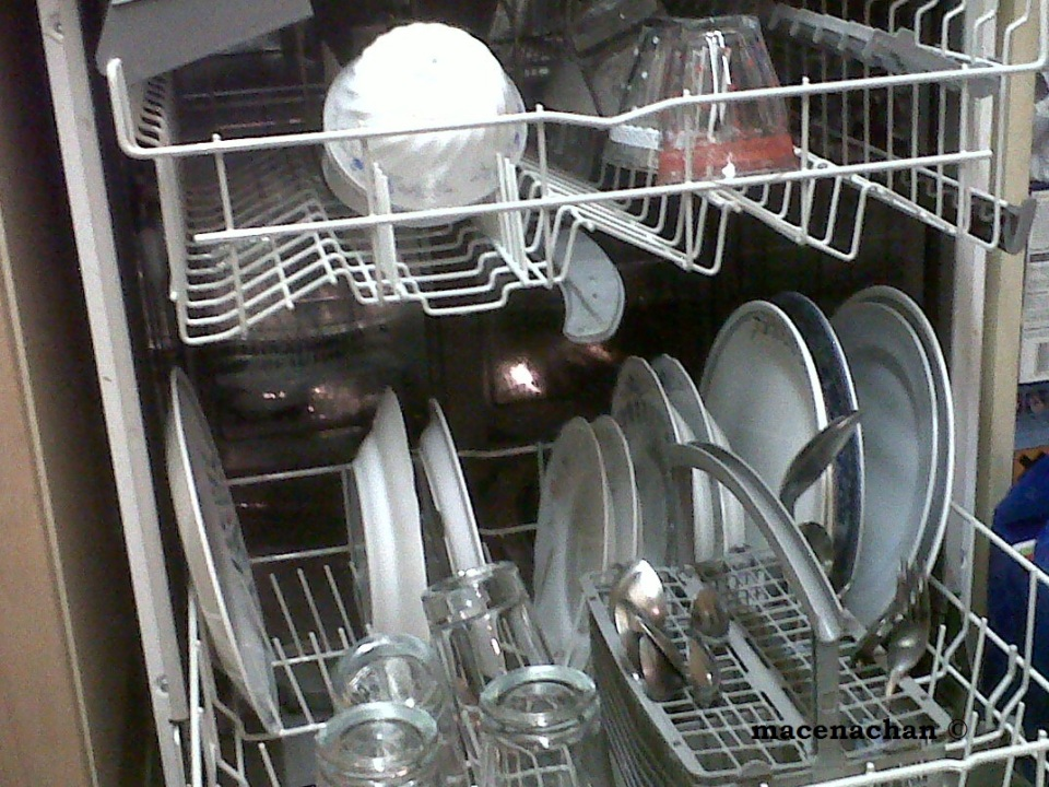 No sink duty. Job sorted! Bless the one who invented the dishwasher!