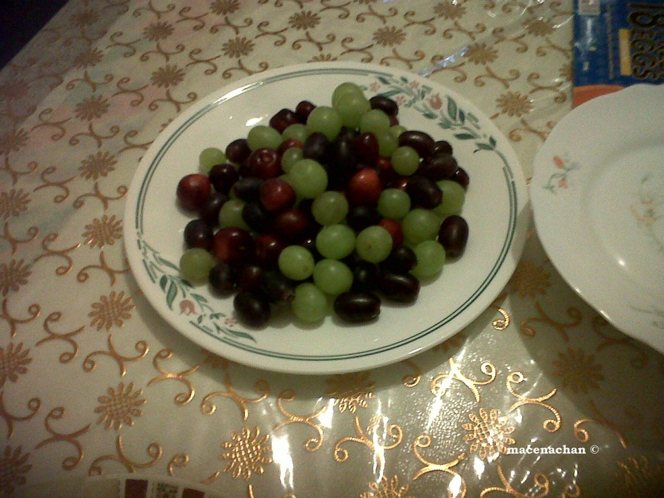 Ramadan 2011 Grape Galore