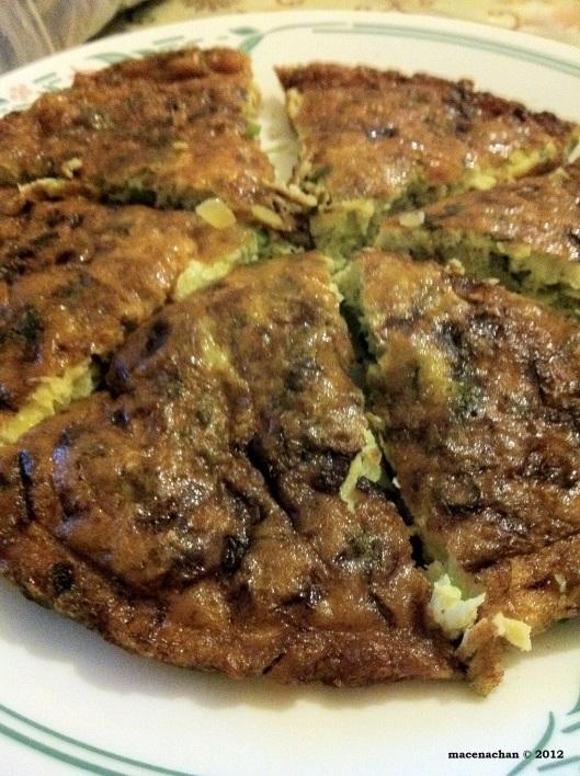 © 2012 Asian omelette
