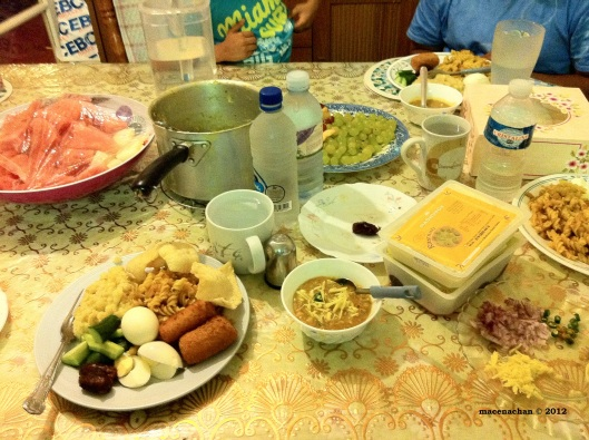 © 2012 Day 23 The Feast