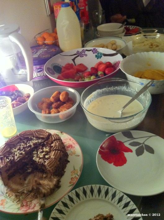 © 2012  Dessert time