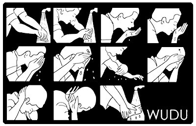 How to make Wudu (Abolution)