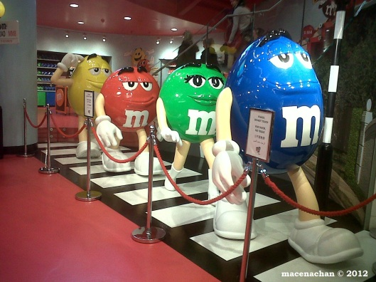 © 2012 M&M store near Piccadilly Circus