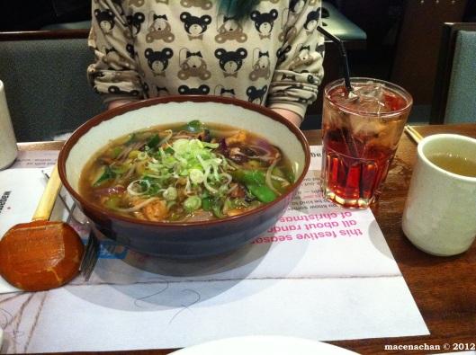 © 2012 Lauren's meal