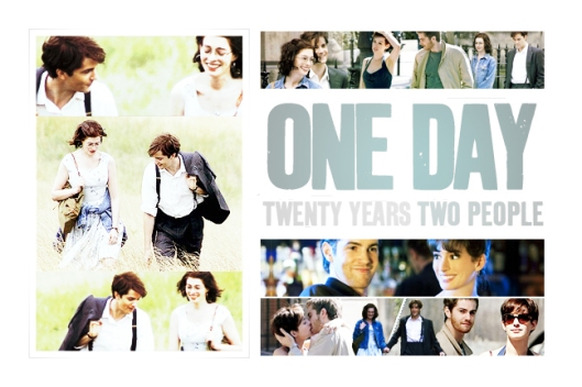 One Day   (Source: http://www.fanpop.com/clubs/one-day-2011-movie/images/23243750/title/one-day-fanart)