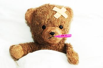 Sick teddy bear (Source: http://www.sodahead.com/living/what-do-you-like-to-do-when-you-are-feeling-sick/question-2736859/?link=ibaf&q=feeling+sick)