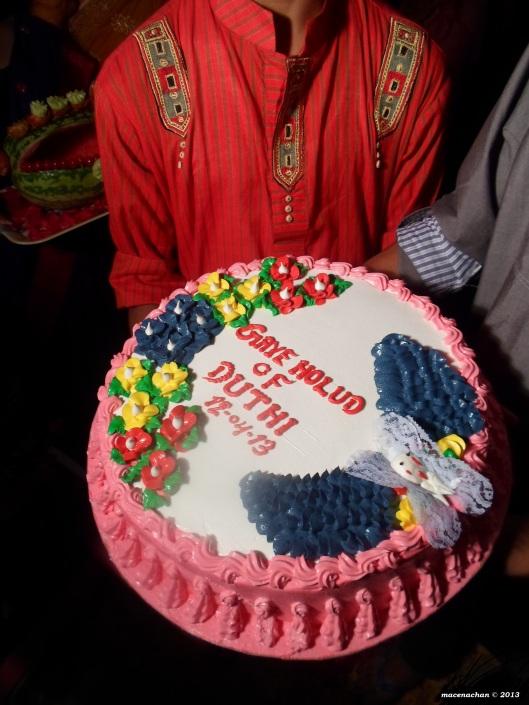 The mendi cake