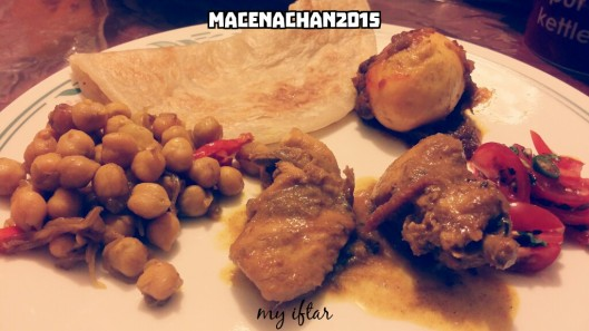 RD 2015 Day 12 my iftar