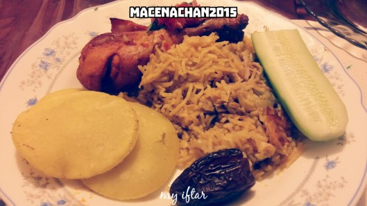 RD 2015 Day 13 my iftar
