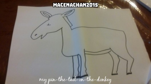Eid 2015 pin the tail on the donkey