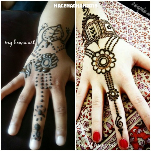 Eid Al fitr henna art