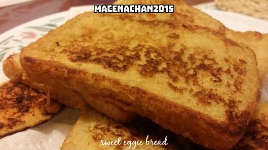 Sweet eggie bread
