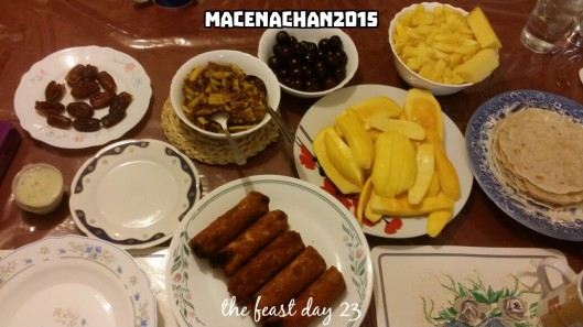 RD 2015 Day 23 the feast