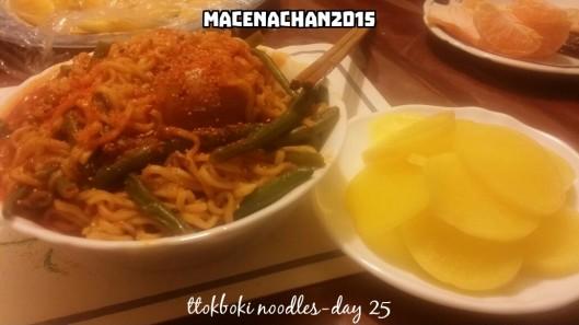 RD 2015 Day 25-ttokboki noodles