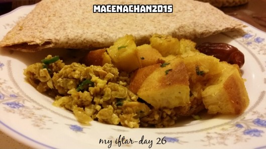 RD 2015 Day 26 my iftar