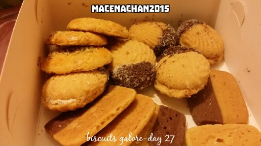 RD 2015 Day 27 mishit biscuits