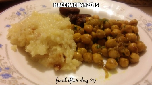 RD 2015 Day 29 final iftar