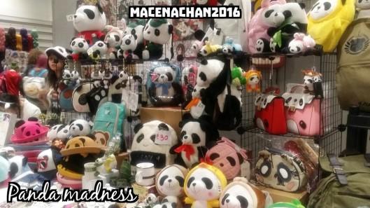 Comic con panda madness
