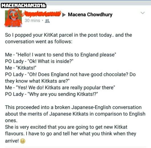 kitkat story