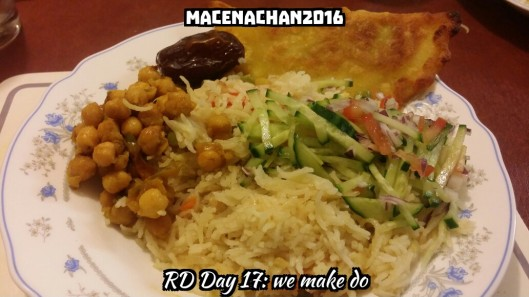 RD DAY 17 iftar