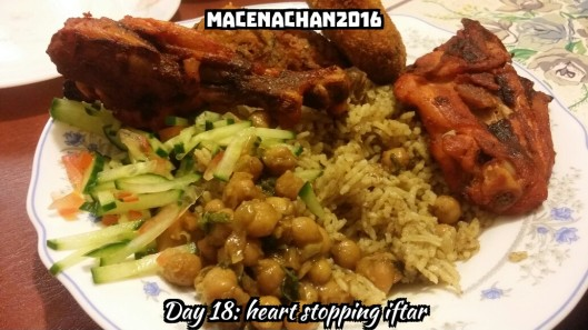 RD DAY 18 iftar